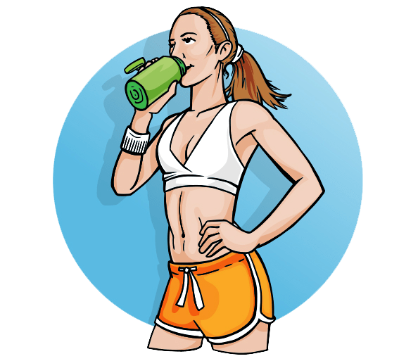 Зачем протеин девушкам