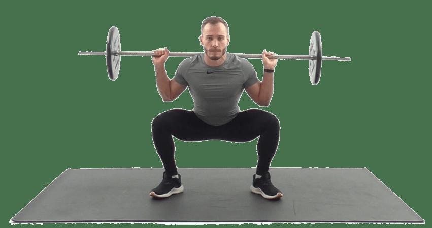 Упражнения на ноги со штангой