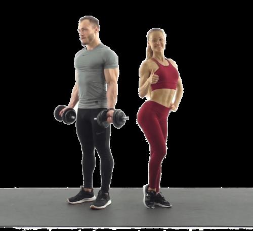 Упражнения с гантелями. ТОП лучших. Упражнения с гантелями на все группы мышц.