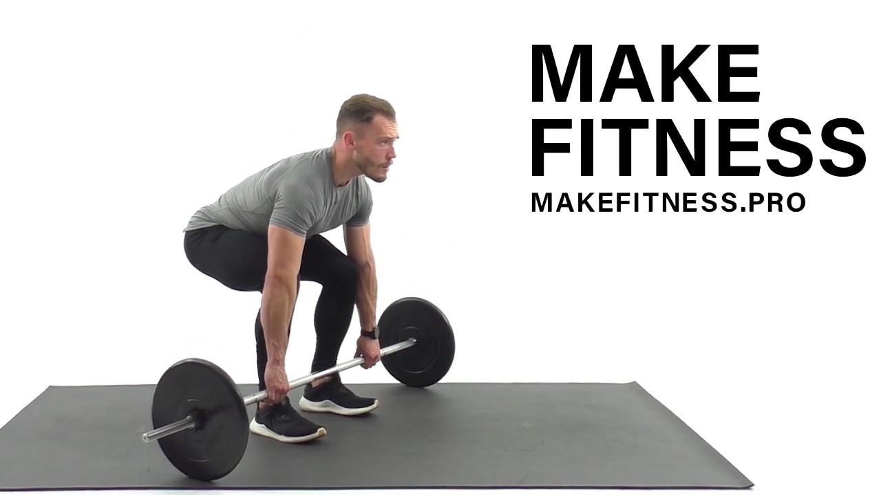 Классическая становая тяга. Техника выполнения.