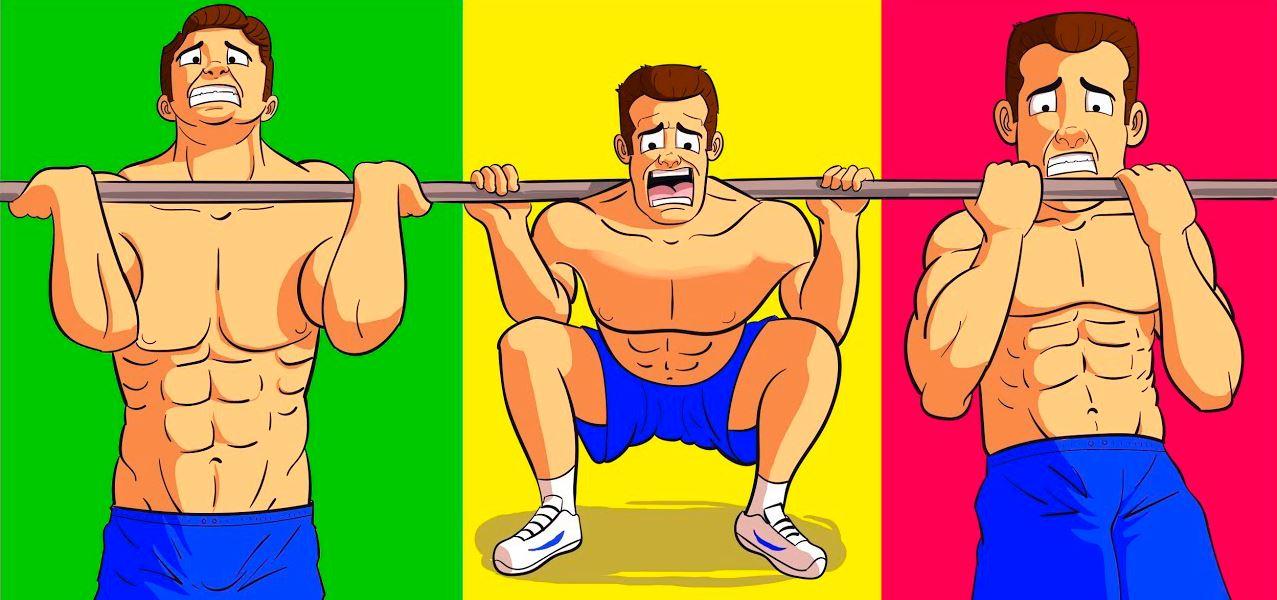 Базовые и Изолирующие упражнения. Что эффективнее.