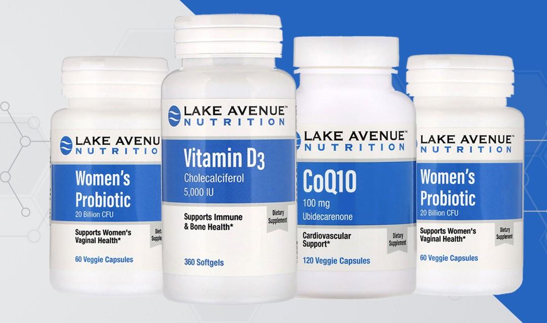 Скидка на Lake Avenue Nutrition