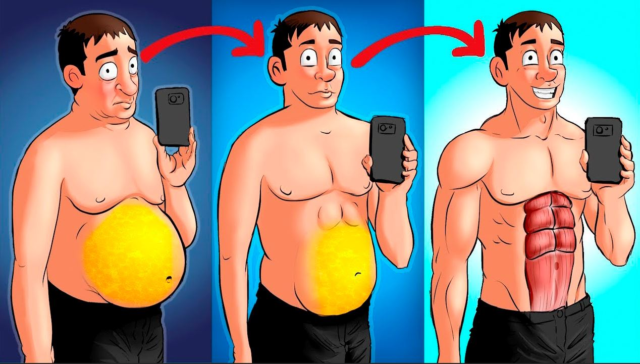 Сжечь жир и набрать мышечную массу