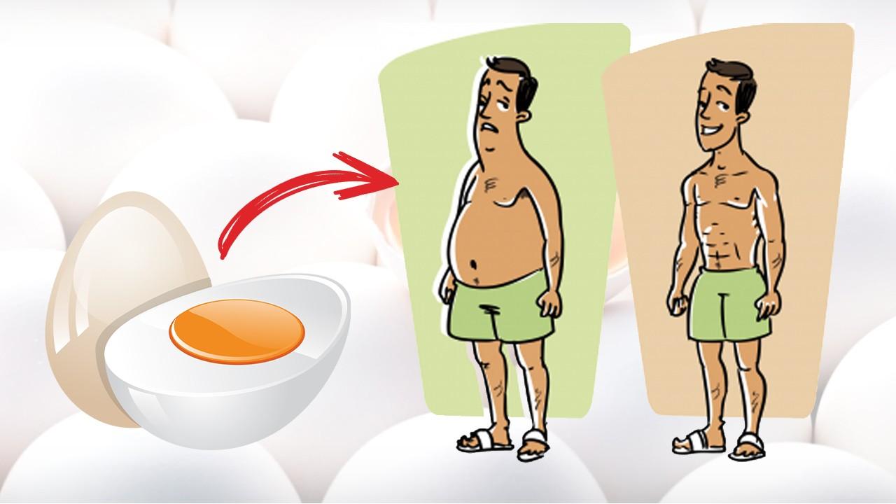Яйца для набора массы и при похудении