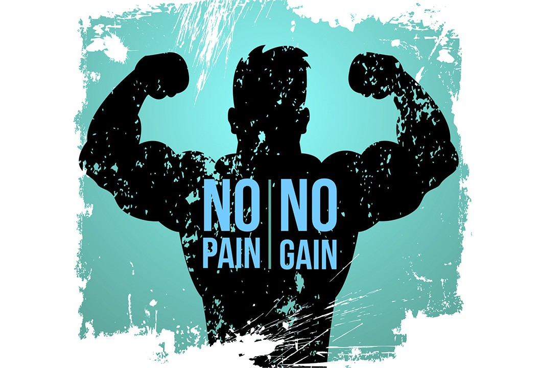 No pain no gain- девиз бодибилдинга.